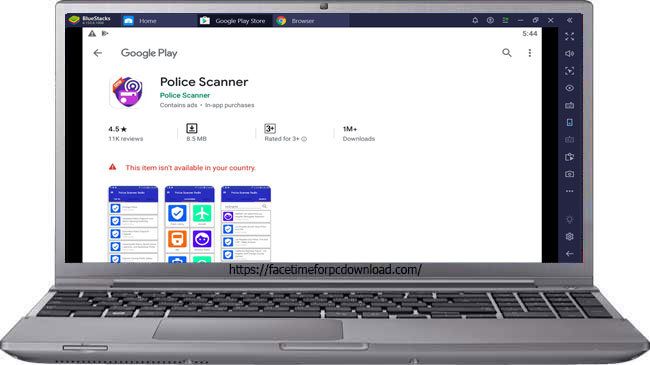 Police Scanner App For PC Download Free