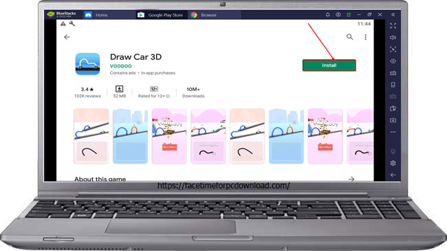 Draw Car For PC Windows 10/8.1/8/7/XP/Mac/Vista Free Download
